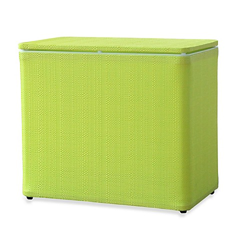 Buy Lamont Home Brights Bench Hamper In Lime From Bed Bath Beyond