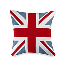 Linen House® London Town Union Jack Square Throw Pillow