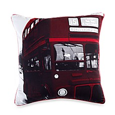 Linen House® London Town Double Decker Throw Pillow