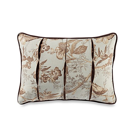 B. Smith Aqua Latte Breakfast Toss Pillow