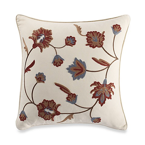 B. Smith Serene 18-Inch Square Throw Pillow