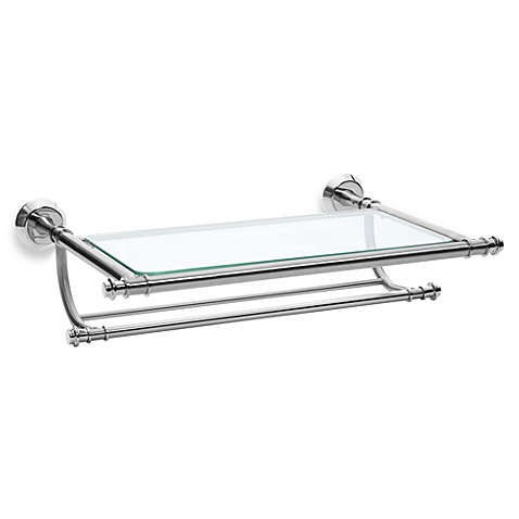 Winthrop Satin Nickel Train Rack