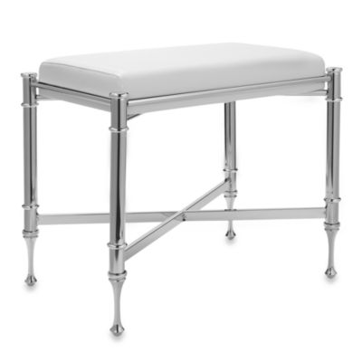 Taymor Chrome Vanity Stool