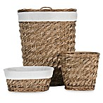 Carnegie Oval 3-piece Hamper Set