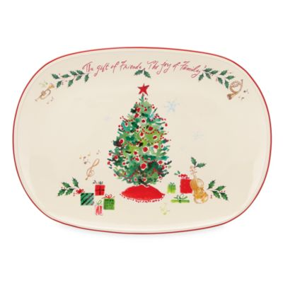 Lenox® Holiday™ The Gift Of Friends Platter