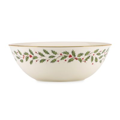 Lenox® Holiday™ 10 3/4-Inch Bowl
