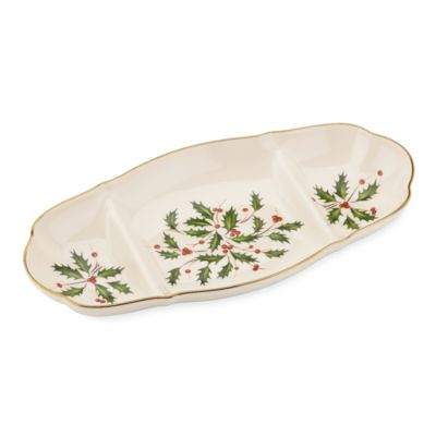 Lenox® Holiday™ 14-Inch Sectioned Server