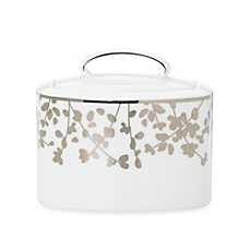 kate spade new york Gardner Street Platinum Covered Sugar Bowl