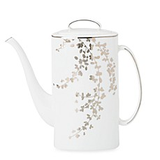 kate spade new york Gardner Street Platinum 52 oz. Coffeepot