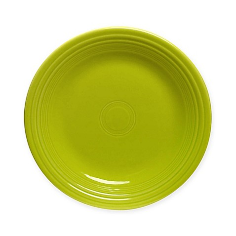 Fiesta® Salad Plate in Lemongrass