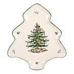 Spode® Christmas Tree Tree-Shaped Platter