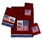 Avanti American Quilt Bath Towels in Brick