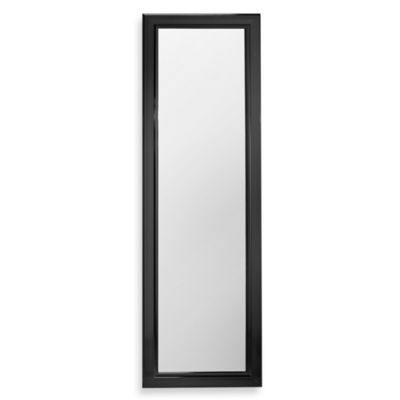 Over the Door Mirror - Black