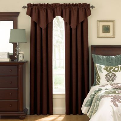 Brown And Black Curtains