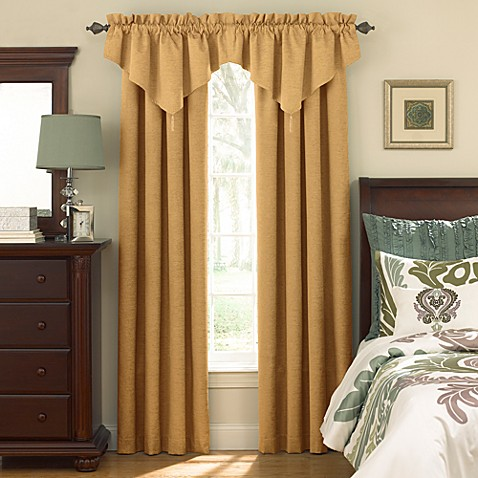 Sound Asleep™ Room Darkening Rod Pocket Window Valance in Café