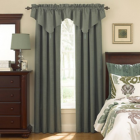 Sound Asleep™ Room Darkening Back Tab Window Valance