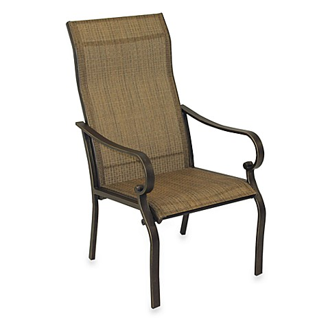 Gold Sling Chair Set Of 2 Bed Bath Beyond