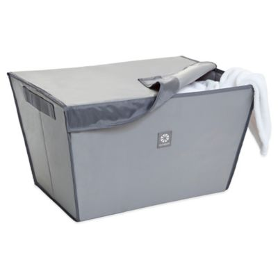 Microdry® Magnetic Catch-All Laundry Basket