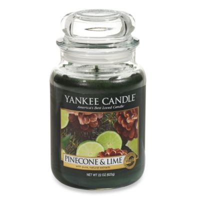 Yankee Candle® Pinecone & Lime Large Classic Candle Jar