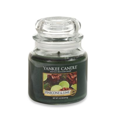 Yankee Candle® Pinecone & Lime Medium Classic Candle Jar
