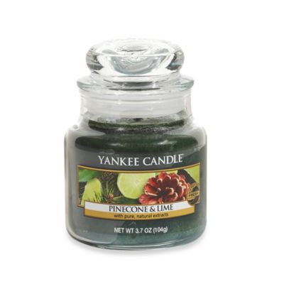 Yankee Candle® Pinecone & Lime Small Classic Candle Jar