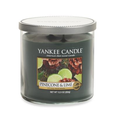 Yankee Candle® Pinecone & Lime Medium 2-Wick Lidded Candle Tumbler