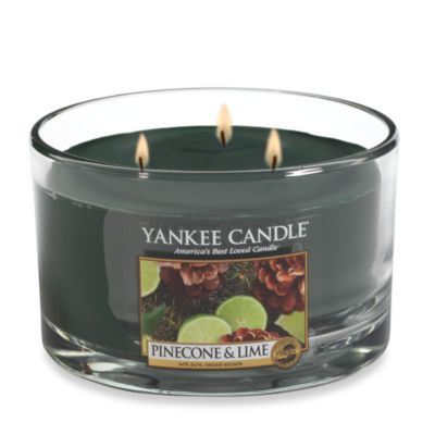 Yankee Candle® Pinecone & Lime 3-Wick Candle
