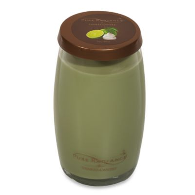 Yankee Candle® Pure Radiance™ Key Lime Large Lidded Vase