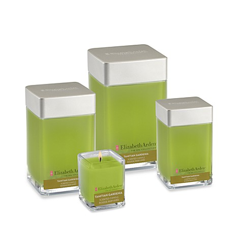 Elizabeth Arden Spa Collection Candles in Tahitian Gardenia