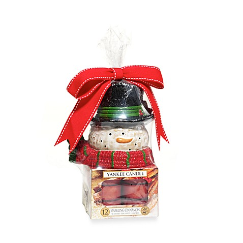 Yankee Candle® Snowman Tea Light Gift Set