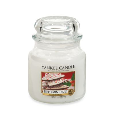 Yankee Candle® Peppermint Bark Medium Classic Candle Jar