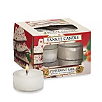 Yankee Candle® Peppermint Bark Tea Light Accent Candles (Box of 12)
