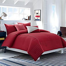 Nautica Crew Red Comforter Set, 100% Cotton