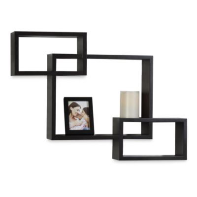 Interlocking Shelf Frame and Flameless Candle Set