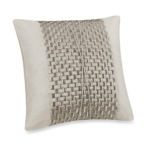 Natori Soho Embroidered 20-Inch Square Throw Pillow