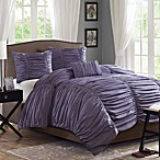 Madison Park Delancey Plum 4-Piece Comforter Set