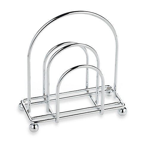 Buy chrome napkin holder from bed bath beyond for Bathroom napkin holder