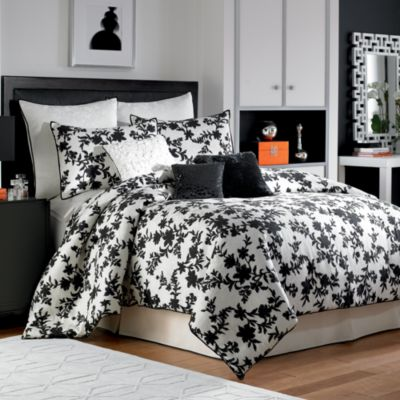 Nicole Miller® Silhouette King Bed Set