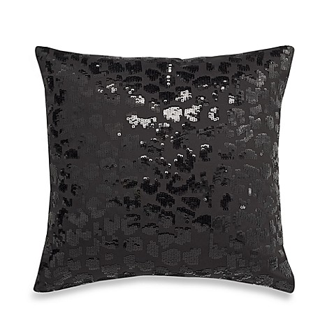 Nicole Miller® Silhouette Sequin Toss Pillow