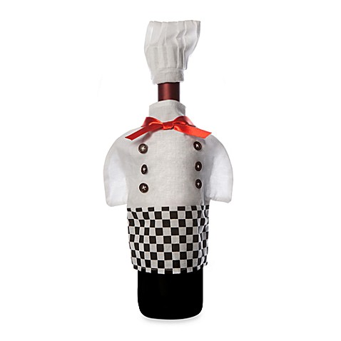 Chef Wine Bottle Outfit