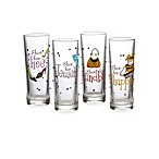 Girly Novelty Shot Glasses (Set of 4)