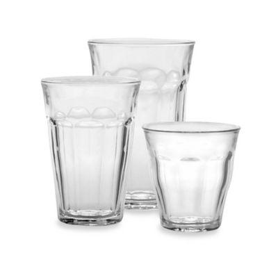 Duralex Picardi 18-Piece Tumbler Glassware Set