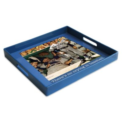 Saturday Evening Post Square Tray