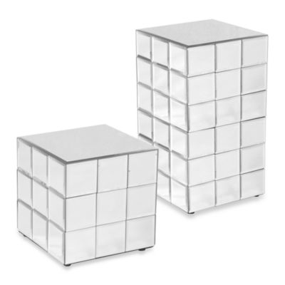 Howard Elliott Mirrored Puzzle Cubes