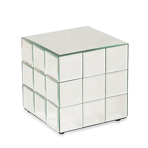 Howard Elliott® Short Mirrored Puzzle Cube