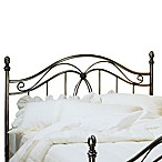 Hillsdale Milano Pewter Full/Queen Headboard with Rails