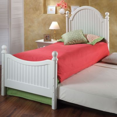 Hillsdale Westfield Twin Bed Set with Roll Out Trundle