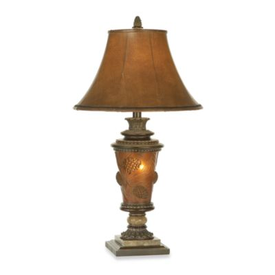 Pacific Coast® Pine Cone Glow Lamp w/ Nightlight
