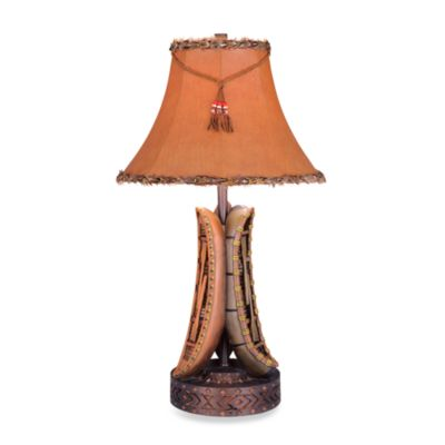 Pacific Coast® Old River Canoe Table Lamp