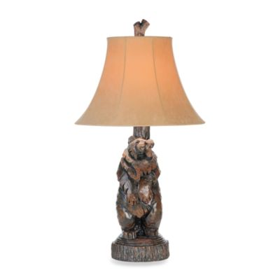 Pacific Coast® Black Bear Table Lamp